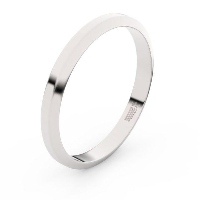 Snubní prsten z bílého zlata, Danfil FMR 6A30