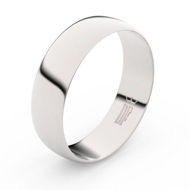 Snubní prsten z bílého zlata, Danfil FMR 9A60