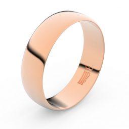 Snubní prsten z růžového zlata, Danfil FMR 9A60