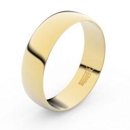 Snubní prsten ze žlutého zlata, Danfil FMR 9A60