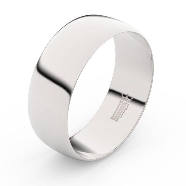 Snubní prsten z bílého zlata, Danfil FMR 9B80