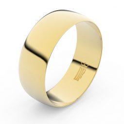 Snubní prsten ze žlutého zlata, Danfil FMR 9B80