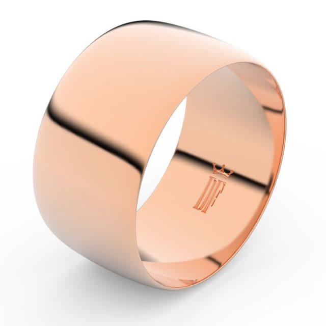 Snubní prsten z růžového zlata, Danfil FMR 9C110