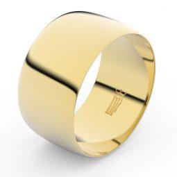 Snubní prsten ze žlutého zlata, Danfil FMR 9C110