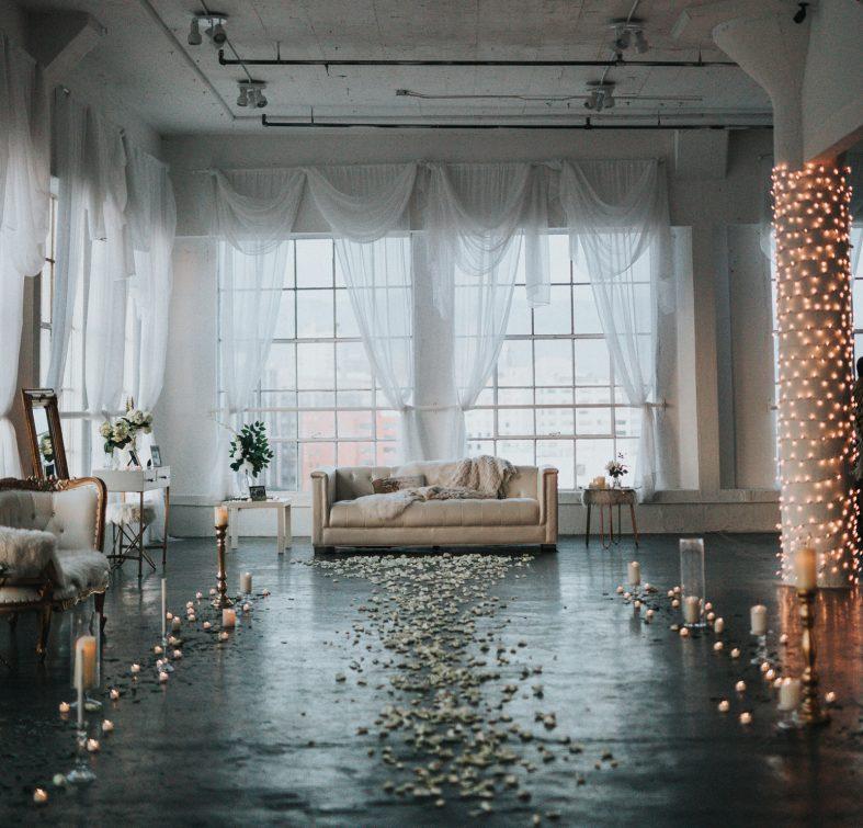 Svatba v tovární hale