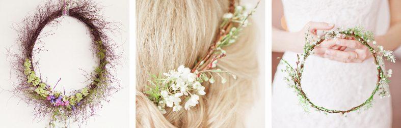 Svatební věneček do vlasů