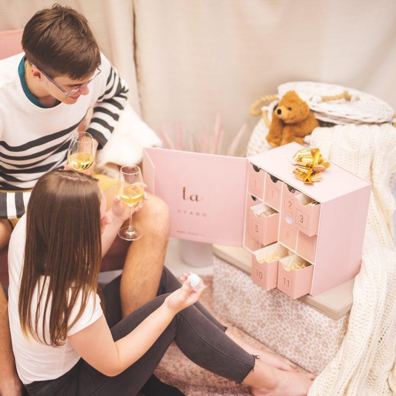 Kalendář pro nevěstu - vnitřek