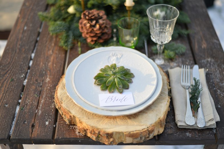 Dekorace na rustikální svatbu