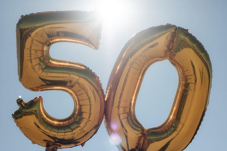 Výročí zlaté svatby - 50 let výročí