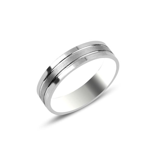 3720 Snubní stříbrný prsten