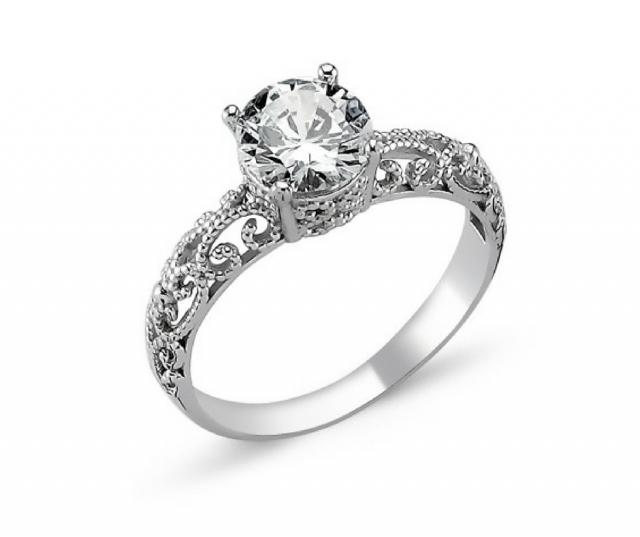 1272 Stříbrný prsten OLIVIE s kubickým zirkonem