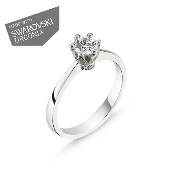 1735 Stříbrný prsten QUEEN