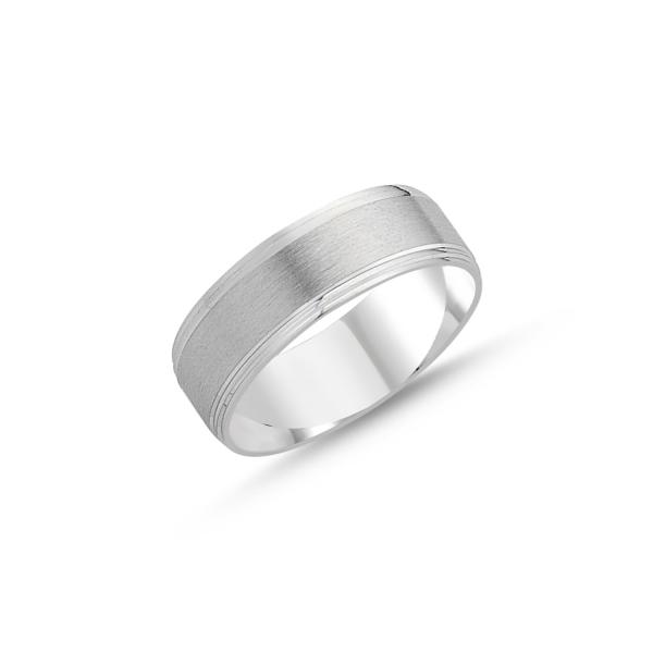 2130 Stříbrný snubní prsten