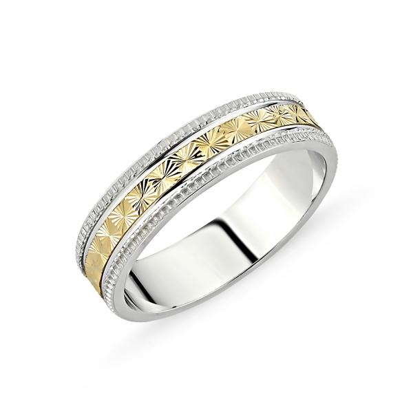 2131 Stříbrný snubní prsten