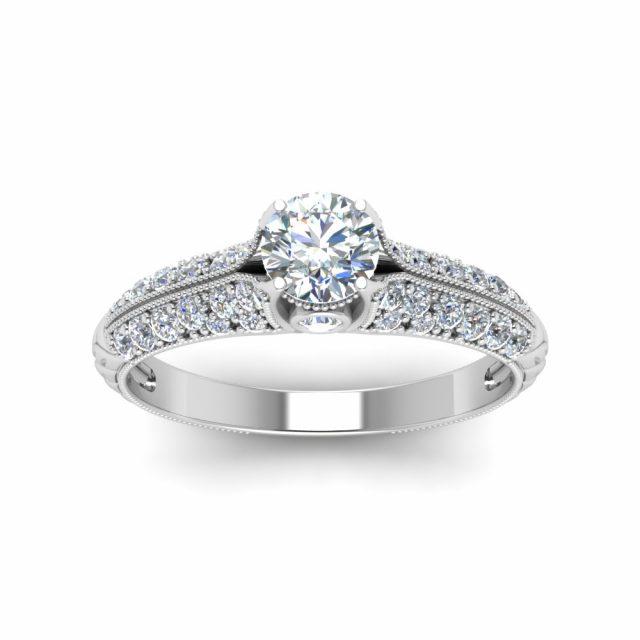 2177 Stříbrný zásnubní prsten