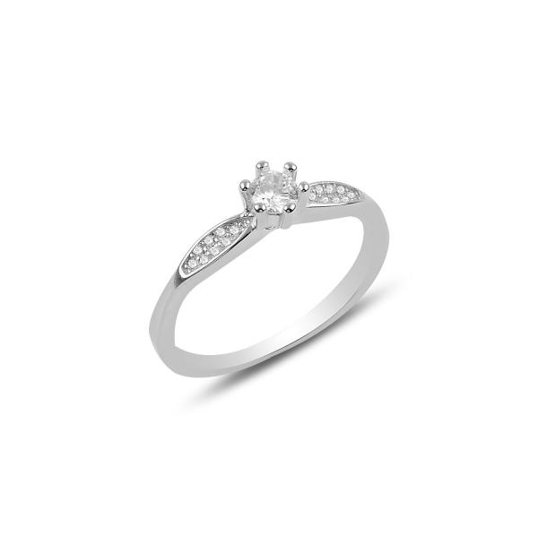 3180 Stříbrný zásnubní prsten