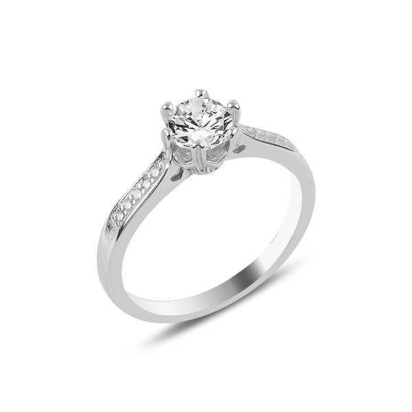 3355 Stříbrný zásnubní prsten