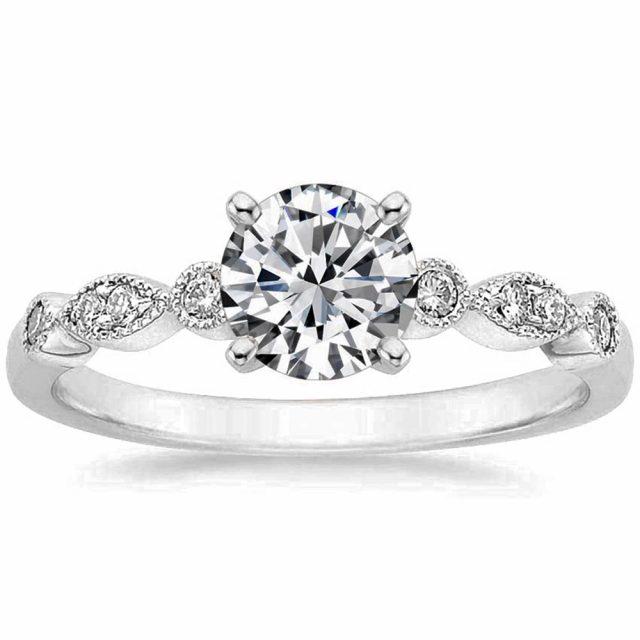 4113 Stříbrný zásnubní prsten