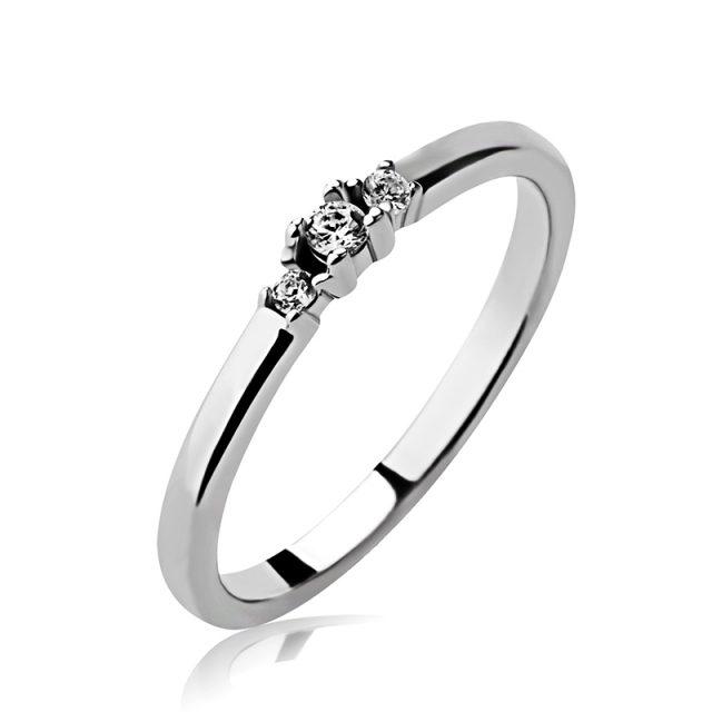 3366 Zásnubní prsten ze stříbra