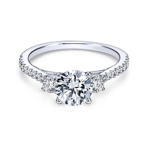 4228 Zásnubní stříbrný prstýnek