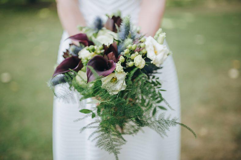 Svatební kytici platí ženich