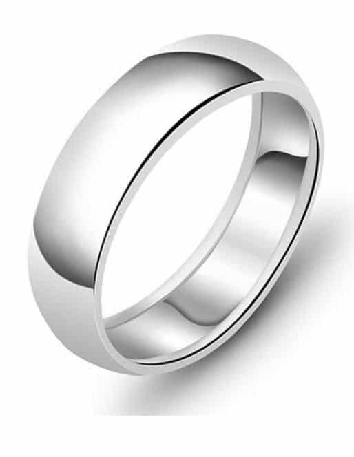 Snubní stříbrný prsten CLASSIC 4759