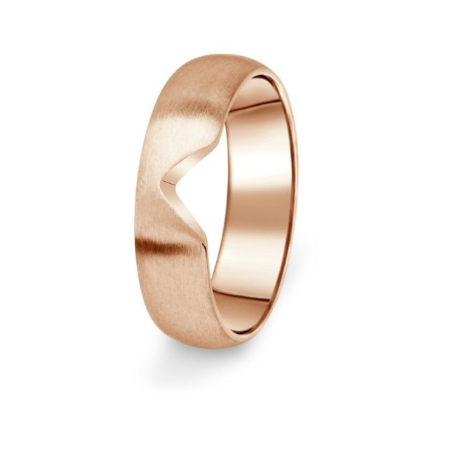 Prsten Danfil DF03/P červené (růžové) zlato 585/1000 bez kamene