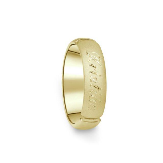 Prsten Danfil DF04/D žluté zlato 585/1000 bez kamene
