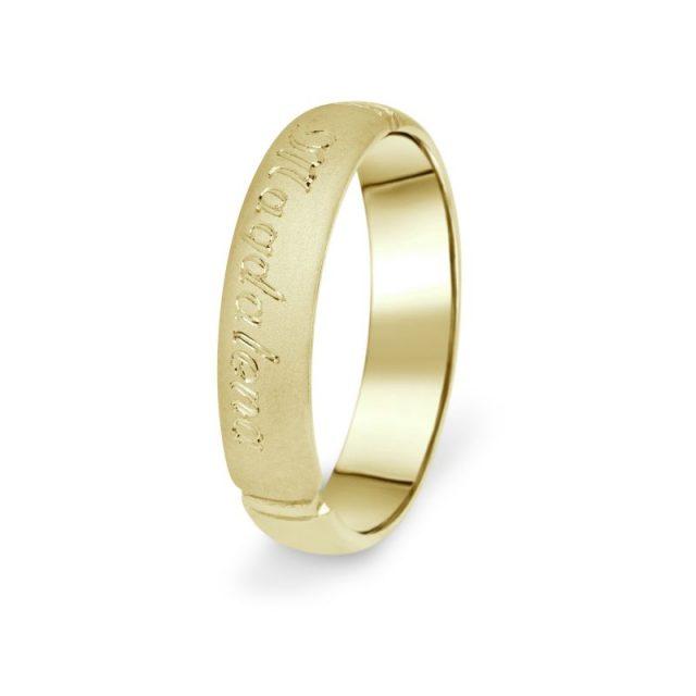 Prsten Danfil DF04/P žluté zlato 585/1000 bez kamene