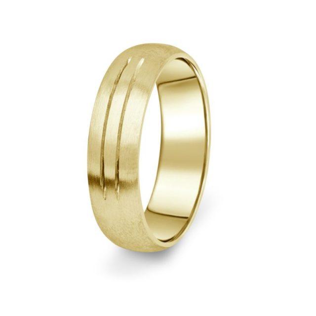 Prsten Danfil DF13/P žluté zlato 585/1000 bez kamene