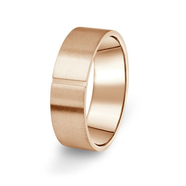 Prsten Danfil DF17/P červené (růžové) zlato 585/1000 bez kamene