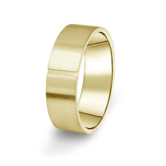 Prsten Danfil DF17/P žluté zlato 585/1000 bez kamene