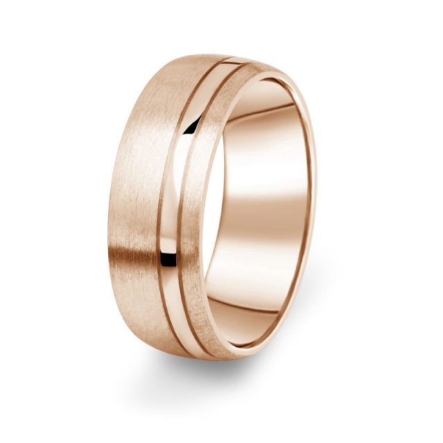 Prsten Danfil DF18/P červené. (růžové) zlato 585/1000 bez kamene