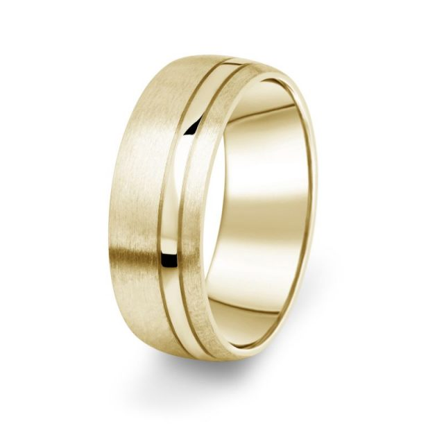 Prsten Danfil DF18/P žluté zlato 585/1000 bez kamene