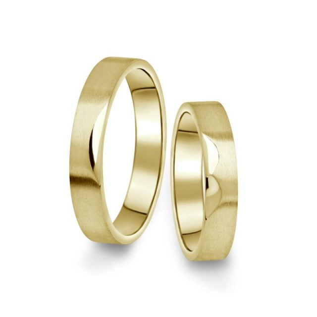 Snubní prsteny ze žlutého zlata, pár – 15