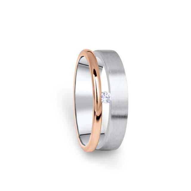 Zlatý dámský prsten DF 11/D s briliantem