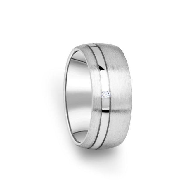 Zlatý dámský prsten DF 18/D s briliantem