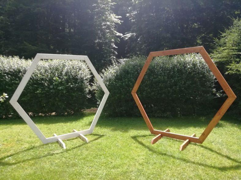 Hexagony na svatbu