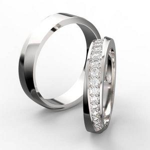 3D vizualizace prstenů s kameny