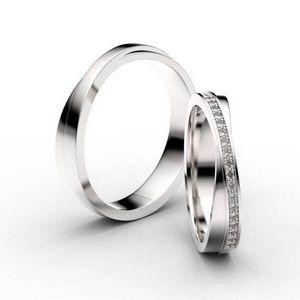 3D vizualizace snubních prstenů na zakázku