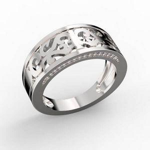 3D vizualizace vykrajovaného prstenu