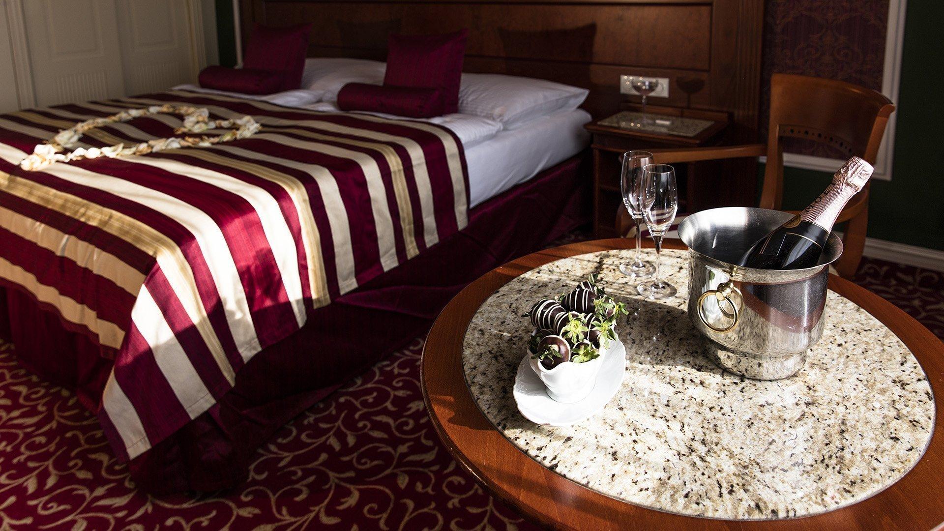Apartmán pro novomanžele Karlovy Vary - Hotel Imperial *****