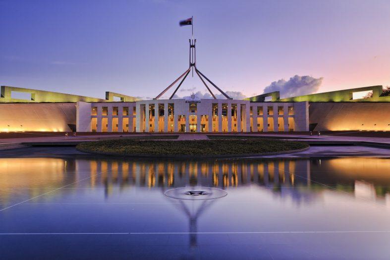 Budova nového Parlamentu, Canberra