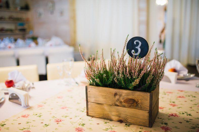 Číslování svatebních stolů