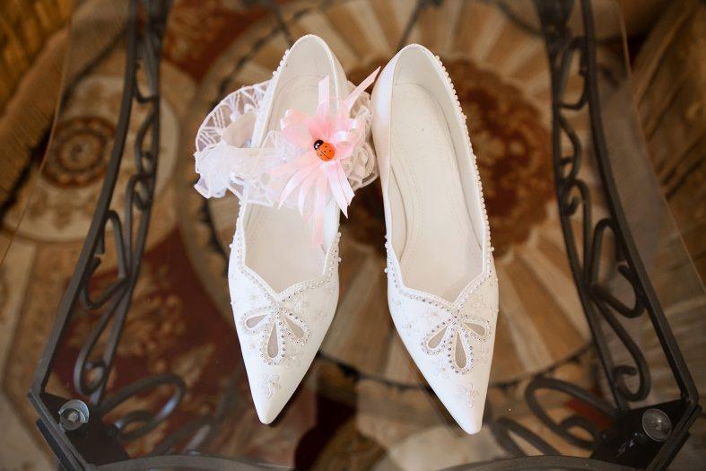 Dámské svatební střevíčky