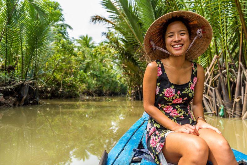 Delta Mekongu, Vietnam