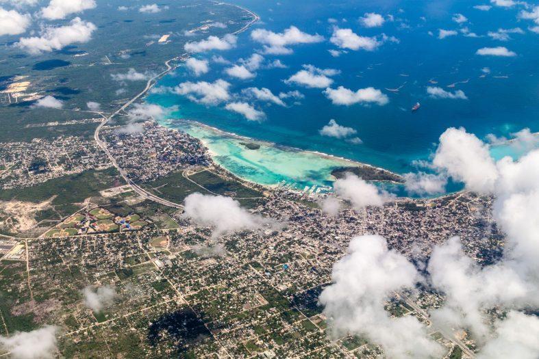Letecký pohled na oblast Boca Chica