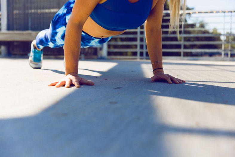 Dynamické cvičení pro hubnutí