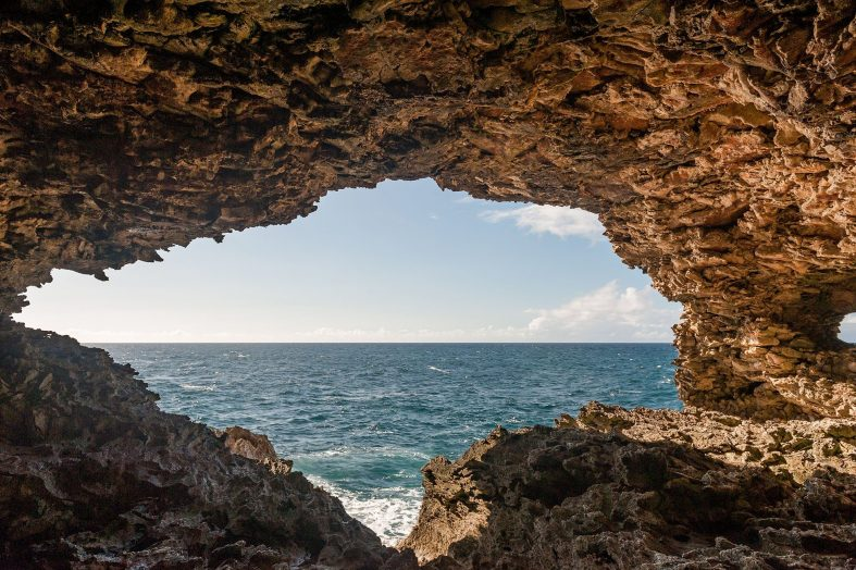 Jeskyně Flower cave, Barbados