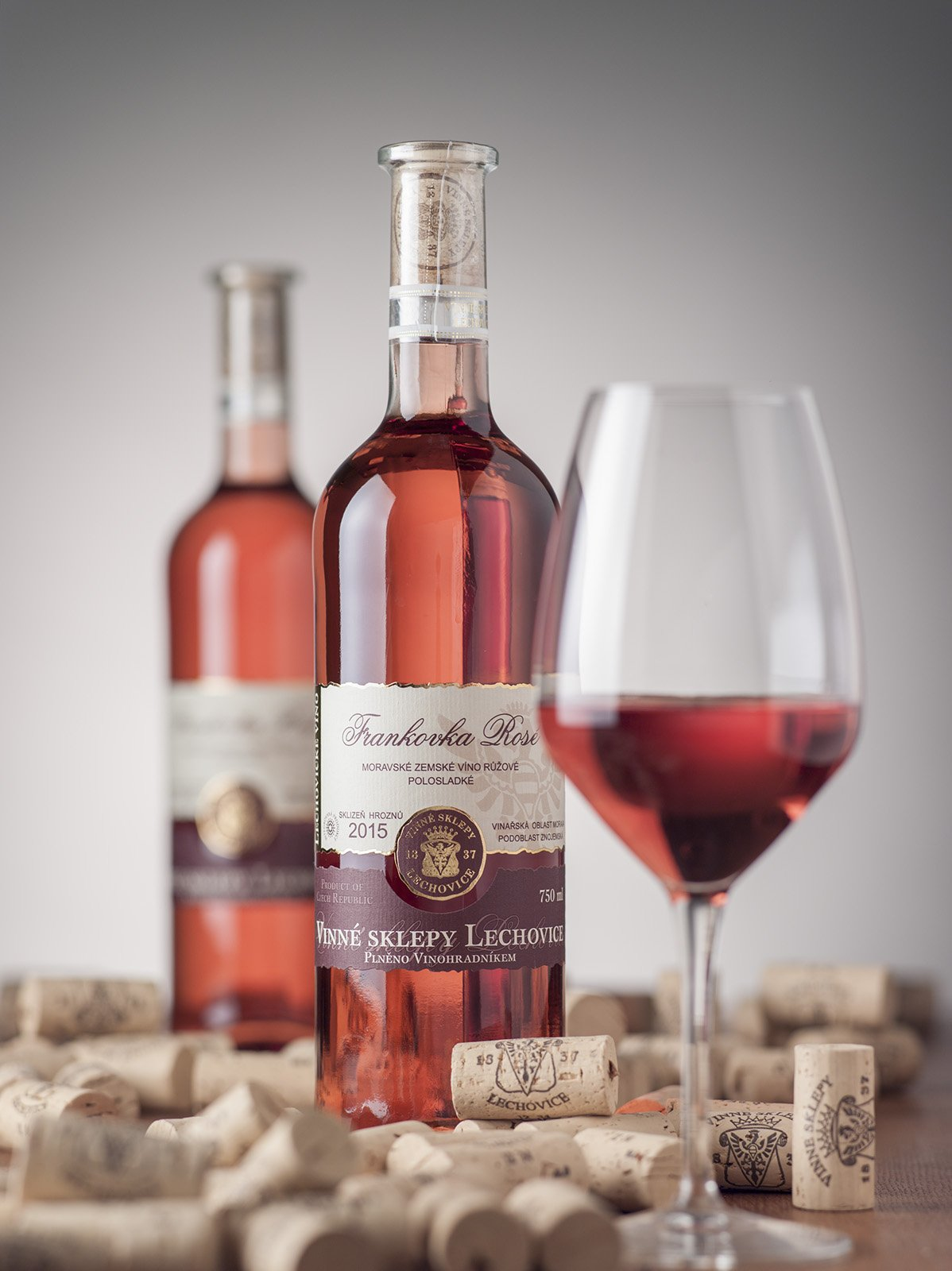 Frankovka rosé Lechovice